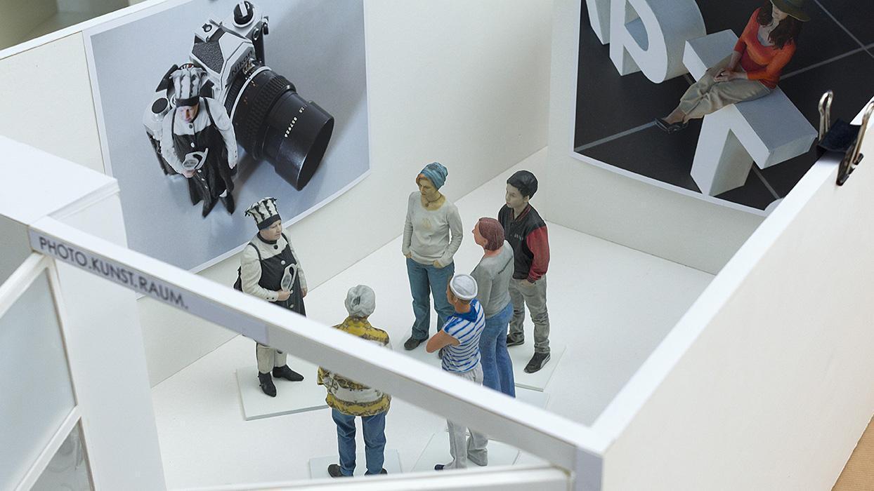 Ausstellung VIER ELEMENTE in Schloss Bruchsal, Miniatur; Foto: PHOTO.KUNST.RAUM. Hamburg, Carmen Oberst