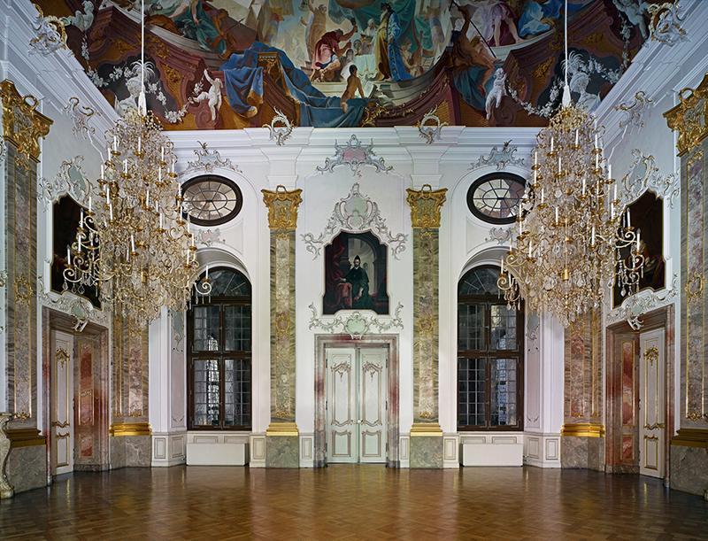 Fürstensaal im Schloss Bruchsal; Foto: Staatliche Schlösser und Gärten Baden-Württemberg, Arnim Weischer