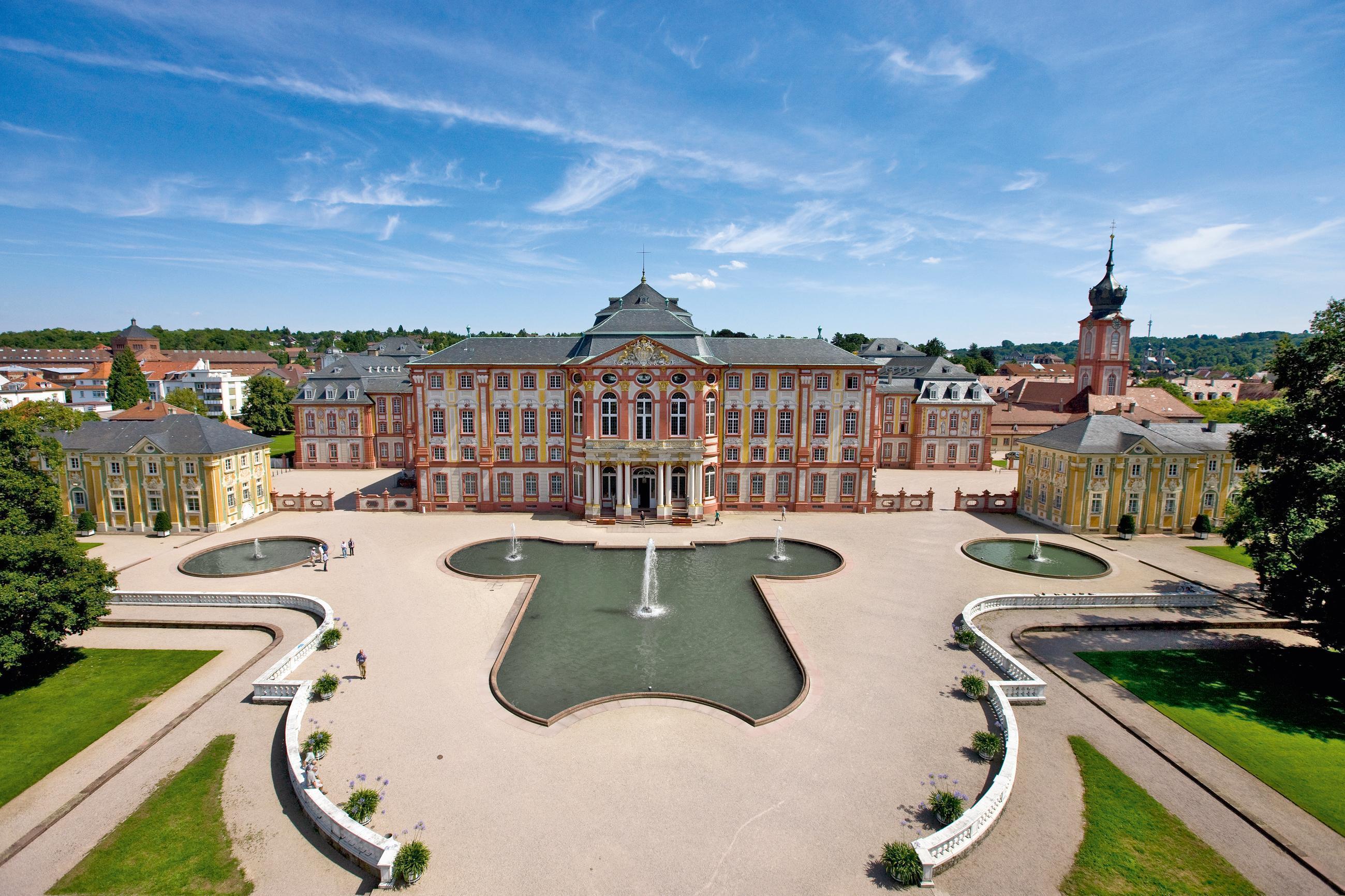 Château de Bruchsal; l'image: Staatliche Schlösser und Gärten Baden-Württemberg, Achim Mende