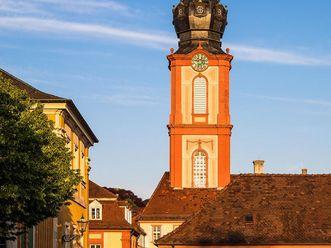 Schloss Bruchsal, Außen, Kirchturm