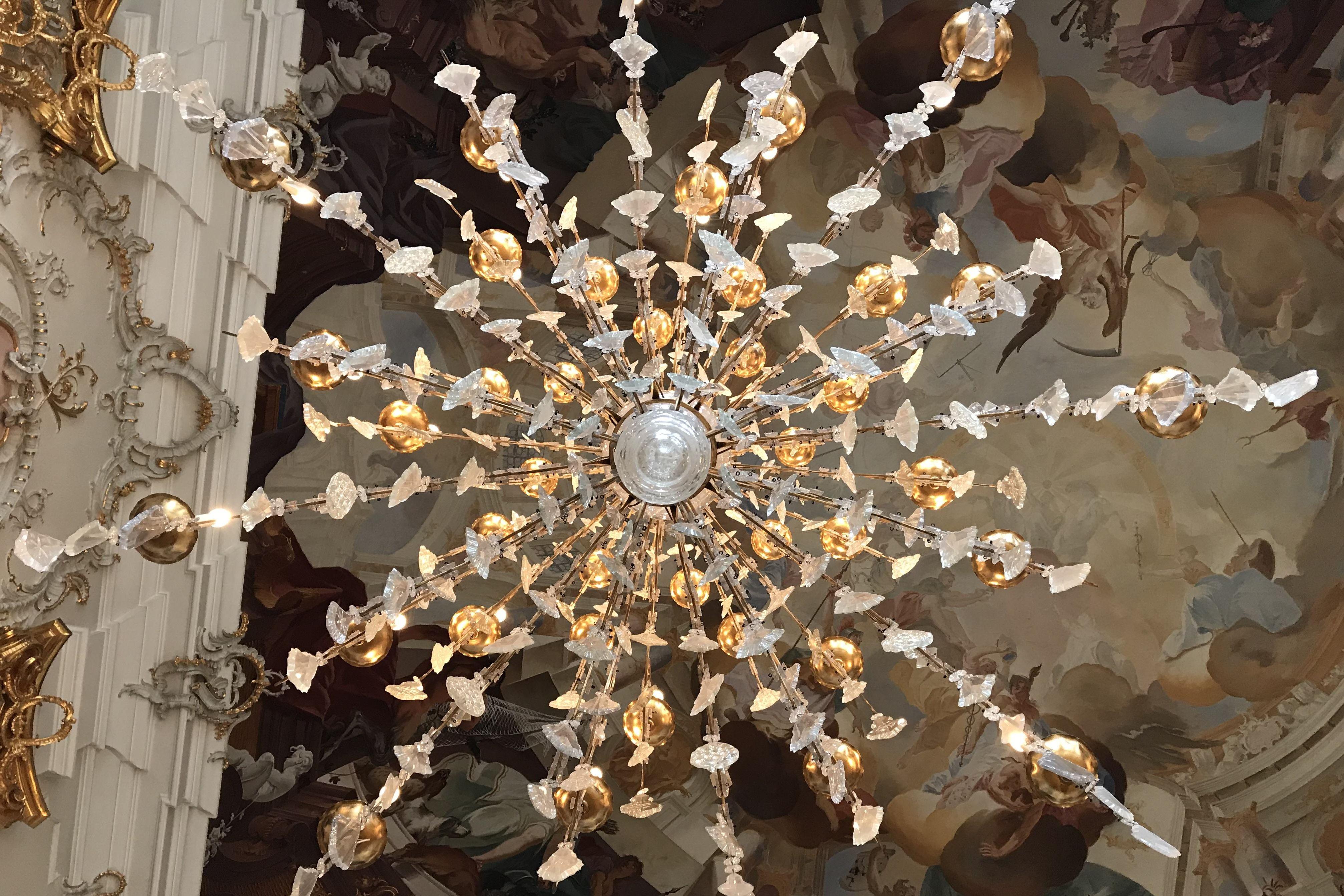 Schloss Bruchsal, Detail