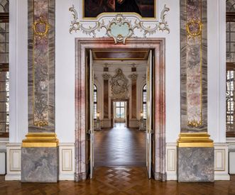 Bruchsal Palace, Door of the Royal Hall; Image: Dr. Manfred Schneider, Nußloch, www.manfred-schneider.de