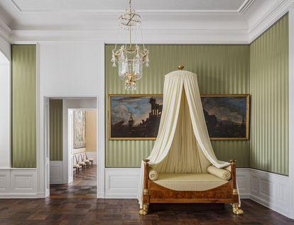 Schloss Bruchsal, Beletage, Appartement der Amalie von Baden
