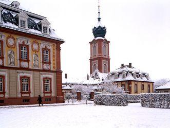 Schloss Bruchsal, Ehrenhof