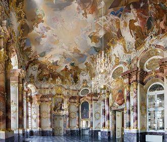 Château de Bruchsal Le salon de marbre