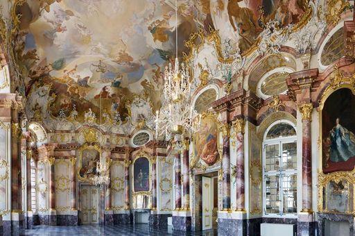 Der Marmorsaal in Schloss Bruchsal; Foto: Staatliche Schlösser und Gärten Baden-Württemberg, Christoph Hermann