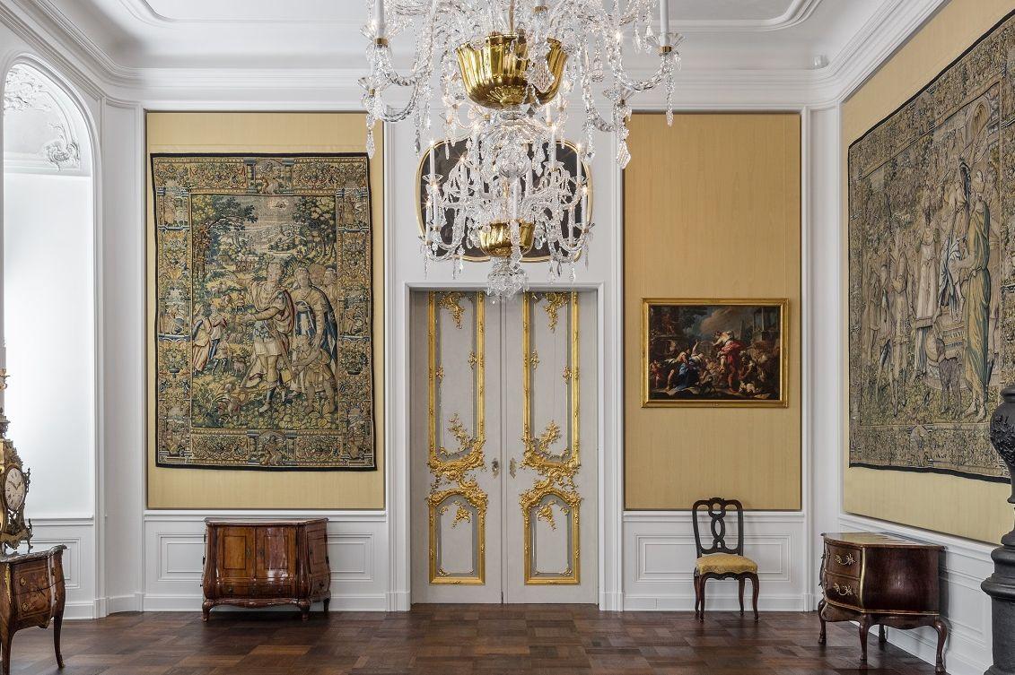 Schloss Bruchsal, Südliches Staatsappartement, Gelbes Zimmer