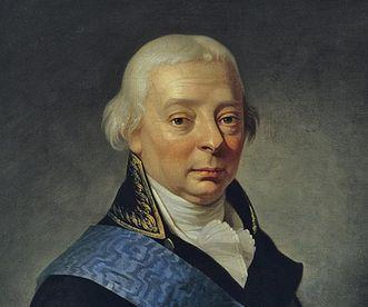 Bildnis des Großherzogs Karl Friedrich von Baden, um 1790; Foto: Staatliche Schlösser und Gärten Baden-Württemberg, Steffen Hauswirth