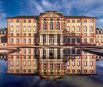 Bruchsal Palace, main building, west side; Image: Dr. Manfred Schneider, Nußloch, www.manfred-schneider.de