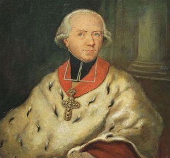 Bildnis des Fürstbischofs Wilderich von Walderdorff, um 1800; Foto: Staatliche Schlösser und Gärten Baden-Württemberg, Urheber unbekannt