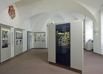 Renovated exhibition rooms on the ground floor of Bruchsal Palace. Image: Staatliche Schlösser und Gärten Baden-Württemberg, Arnim Weischer