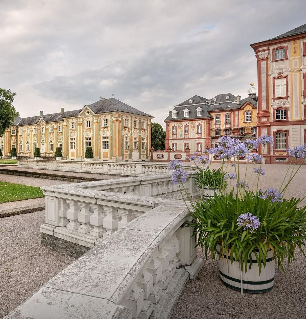 Bruchsal Palace, exterior view