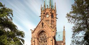 Die Großherzogliche Grabkapelle in Karlsruhe