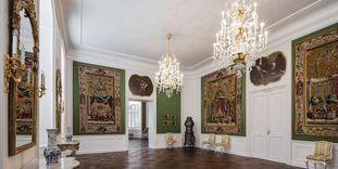 Französische Tapisserien im Jagdzimmer, Schloss Bruchsal