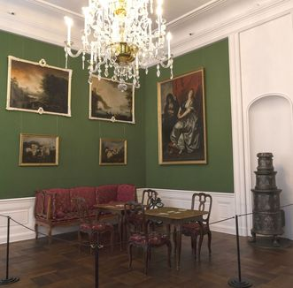 Schloss Bruchsal, Beletage, Galeriezimmer