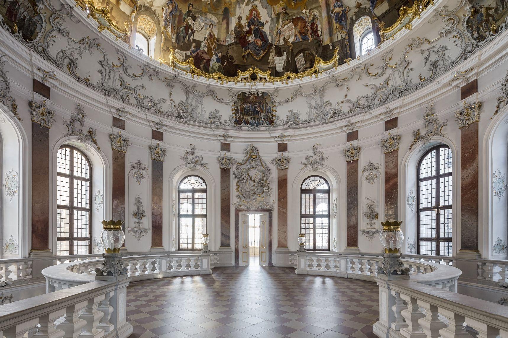 Schloss Bruchsal, Kuppelsaal