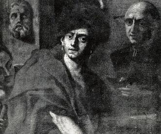 Portrait of Cosmas Damian Asam, by Egid Quirin Asam, circa 1720/30. Image: Landesmedienzentrum Baden-Württemberg, Robert Bothner