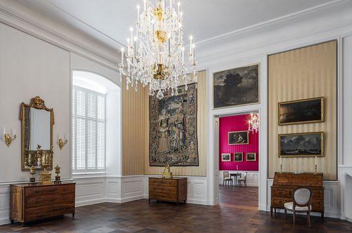 Schloss Bruchsal, Beletage, Appartement Amalie von Baden, Wohnzimmer