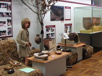 Part of the exhibition of the Bruchsal City Museum in Bruchsal Palace. Image: Staatliche Schlösser und Gärten Baden-Württemberg, Julia Haseloff