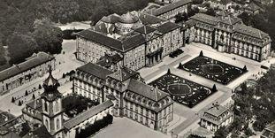 Schloss Bruchsal, Luftaufnahme