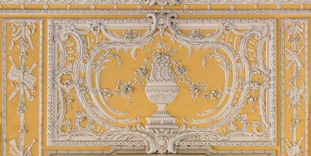 Bruchsal Palace, Chamber Music Hall, Details