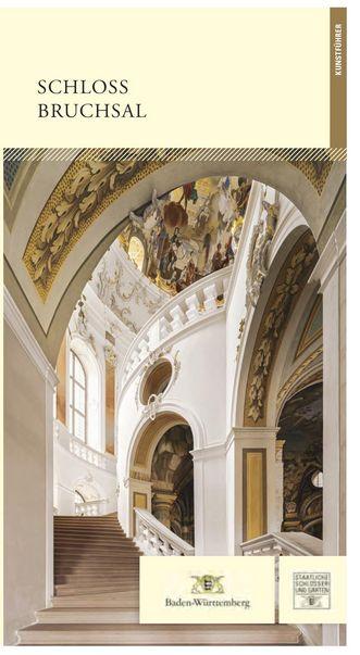 """Titel des Kunstführers """"Schloss Bruchsal""""; Gestaltung: Staatliche Schlösser und Gärten Baden-Württemberg, JUNG:Kommunikation GmbH"""