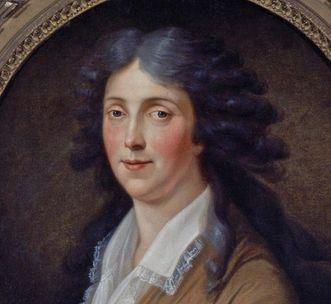 Bildnis der Markgräfin Amalie von Adolf Ulrik Wertmüller, um 1800