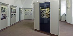 Erneuerte Ausstellungsräume im Erdgeschoss von Schloss Bruchsal