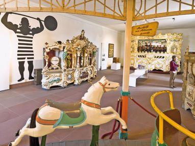 Schloss Bruchsal, Museum mit Musikautomaten
