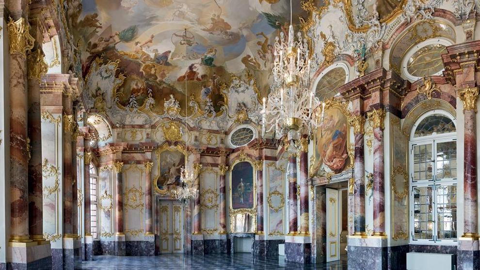 Marmorsaal of Bruchsal Palace